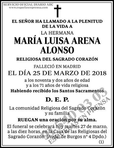 María Luisa Arena Alonso